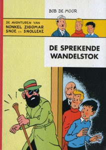 De cover as drawn by Johan De Moor