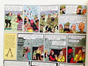 2 first strips from the last page in the Casterman version.