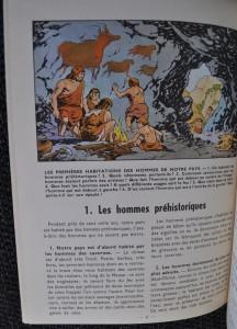 "Page 4 of ""Histoire de mon pays: histoire de Belgique"", signed by Bob De Moor"