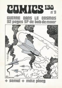 The cover of Comics 130 which was NOT by Bob De Moor.