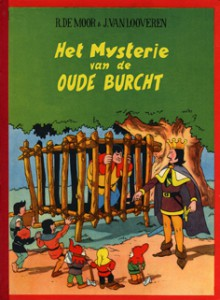 The cover of the Dutch version to be released by Brabant Strip.