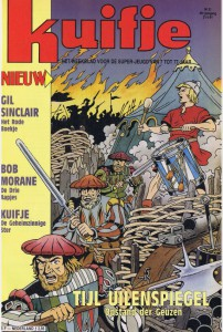 The cover as drawn by Bob De Moor