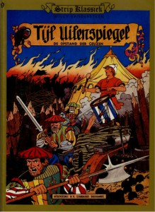 The cover as drawn by Willy Vandersteen