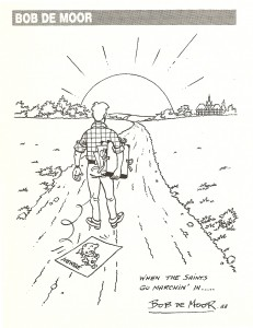 Farewell to Hergé by Bob De Moor