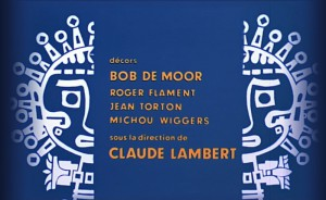 Bob De Moor is mentioned in the opening credits for the animation film.