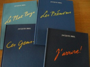 The 4 deluxe edition volumes as released by Brain Factory International.