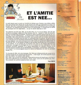 Yves Sente says farewell to Bob De Moor in  Hello Bédé.
