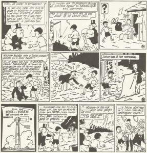 The excellently restored original version from 1955 as publicized by Brabant Strip 2003.