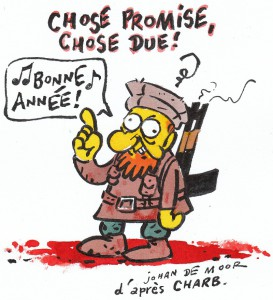 Johan De Moor's answer to the barbaric killing at the Charlie Hebdo HQ.