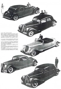 The documentation of Bob De Moor for the Citroën cover.