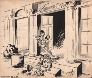 """Le grand nettoyage"" (1945)"