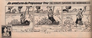 The story as published on the 2nd page of the Tintin of 17 February 1951.