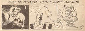 Vodje De Zwerver, a 1947 cartoon.