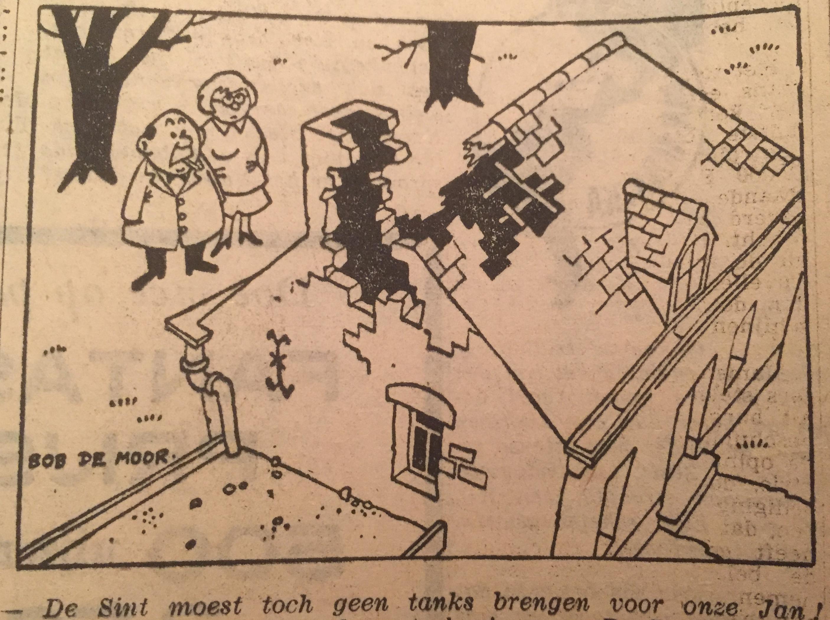 2 more 'Help Sinterklaas' cartoons surface