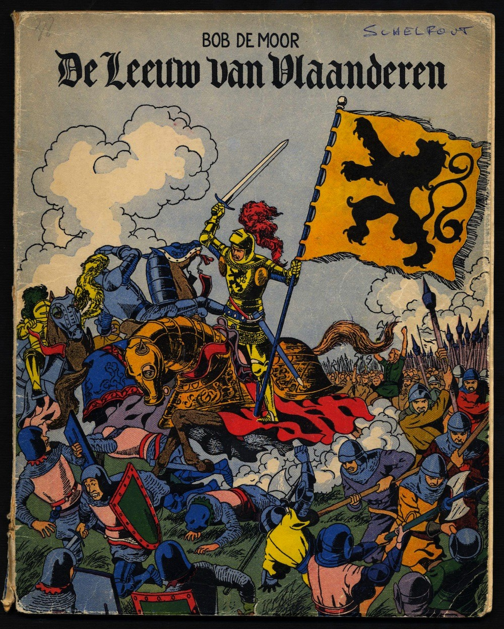 'De Leeuw van Vlaanderen' in a reworked version by Johan De Moor