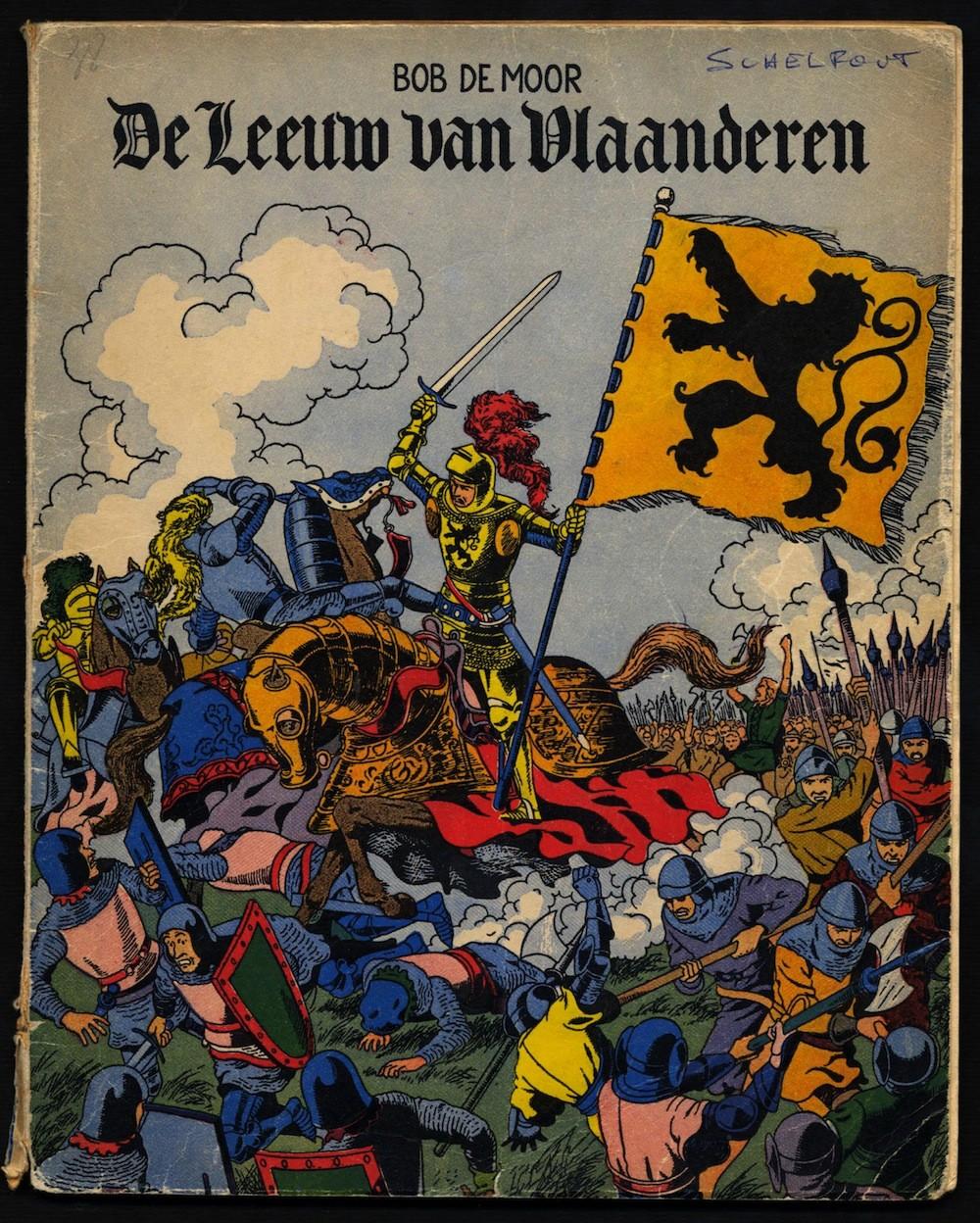 'De Leeuw van Vlaanderen' in a reworked version by Johan De Moor