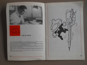 20th anniversary of the Tintin Journal with Bob de Moor
