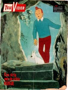 Televisier magazine issue of June 8 1974 - Copyright © Hergé / Moulinsart