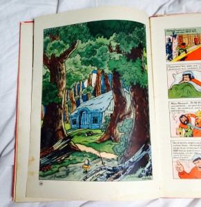A look inside this 1947 published album.