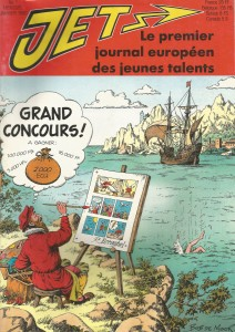 Issue 1 of Jet, published in January 1990