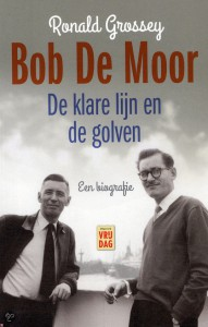 "The cover of the 2013 book ""Bob de Moor. De klare lijn en de golven"""