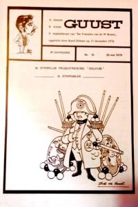 Issue 15 of Guust magazine (1979)