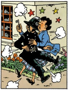 Too much detail in this drawing? © Hergé / Moulinsart