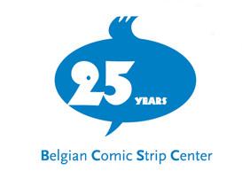 The logo of the Belgian Comic Strip Center