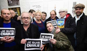 Belgian cartoonists united for Charlie Hebdo.