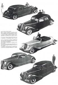 The documentation of Bob De Moor for the Citroën cover.