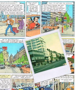 """The 15th page in the """"Barelli in Bruisend Brussel"""" album."""