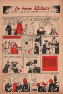 """Page 30 of """"De Koene Edelman - Het Heilige Leven Van Johannes Baptista De La Salle""""."""