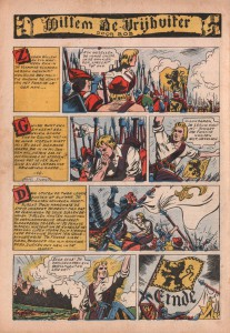 """The final page of """"Willem De Vrijbuiter"""" as published in 't Kapoentje in 1948."""