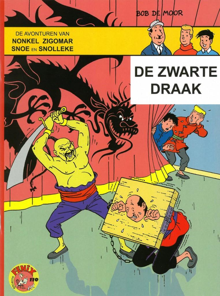 De zwarte draak - cover